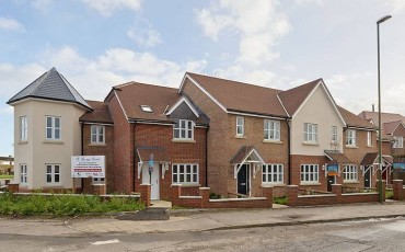 Handover of St Georges Court, Donnington