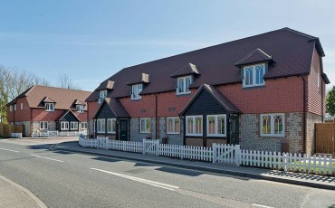 Murrells Cottages, Barnham, handed over