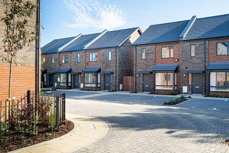 Completion of Packer Close in East Grinstead