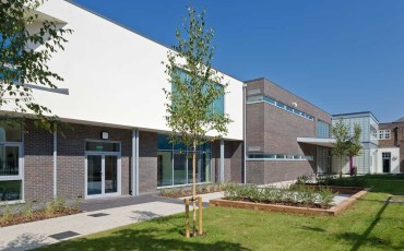 Purbrook Park School - Block A Completed