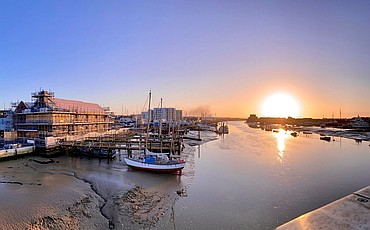 Sunrise at Sussex Yacht Club